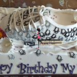 Dior trainers cake