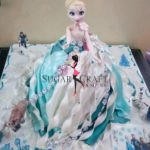 Elsa barbie cake by Sugar Craft Designs